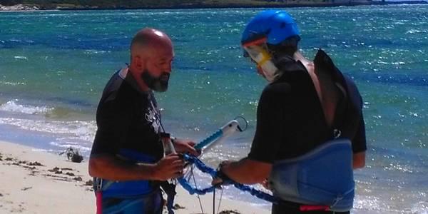 Alex directeur du centre de windsurf et de kitesurf Madagascar