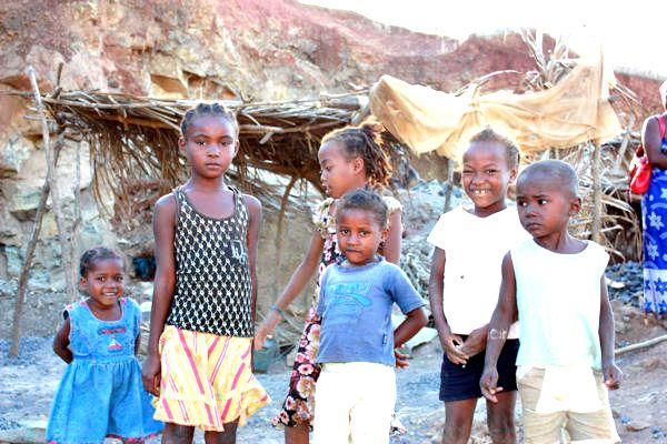 Les enfants de Sakalava