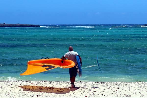 Cours de wing foil Ocean Lodge Madagascar