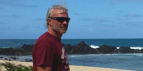 Thierry Surdez fondateur d'Ocean Lodge, centre de windsurf et de kitesurf Madagascar